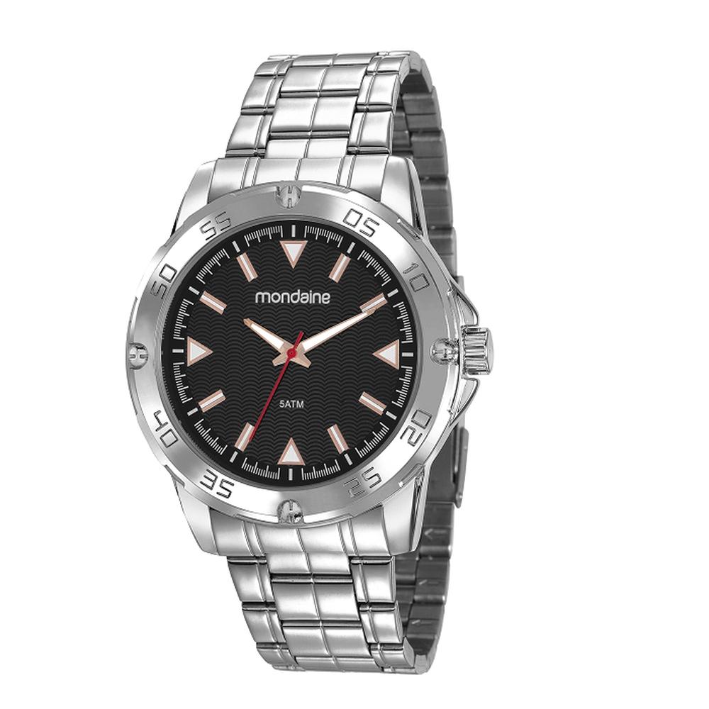 Relógio Masculino Mondaine Prata Analógico 83458G0MVNE1
