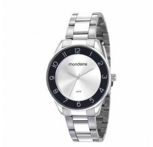 Relógio Mondaine Feminino Prata 53637L0MVNE3