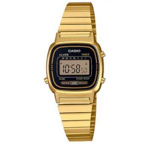 Relógio Casio Vintage Feminino Mini Dourado LA670WGA-1
