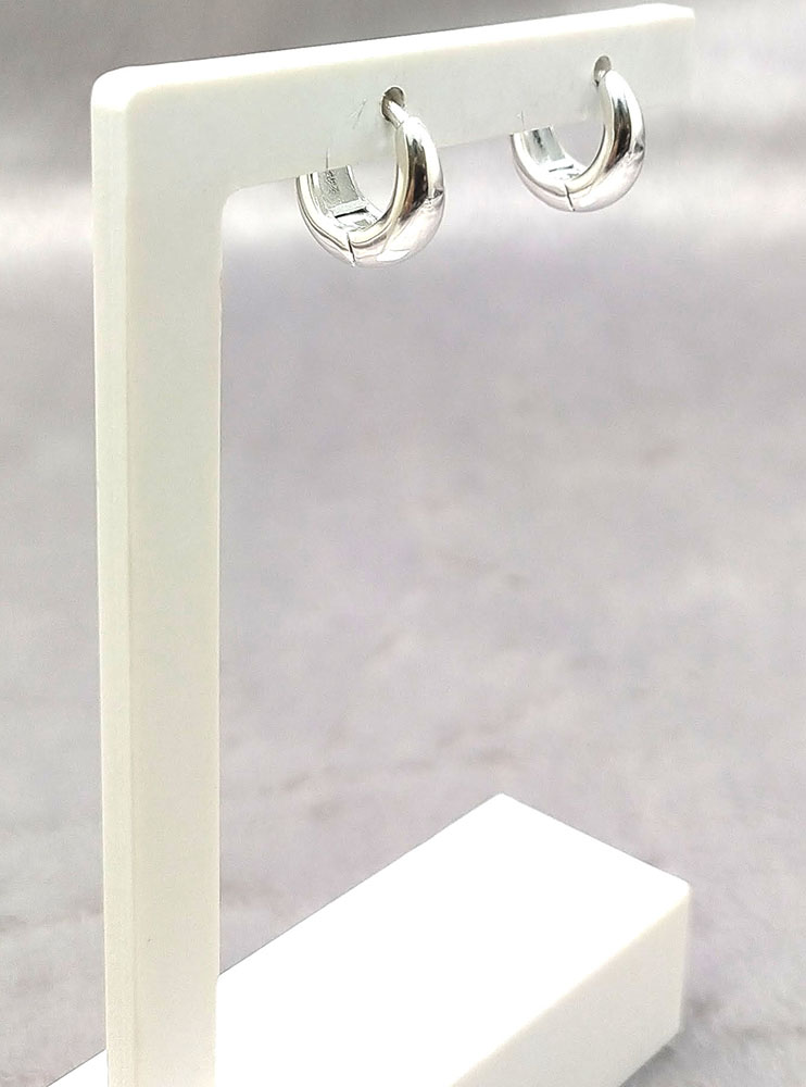 Mini Argola em Prata