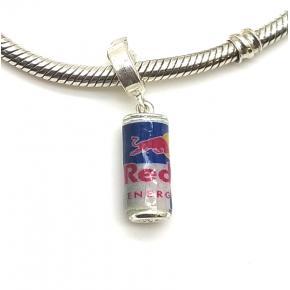Berloque Red Bull em prata