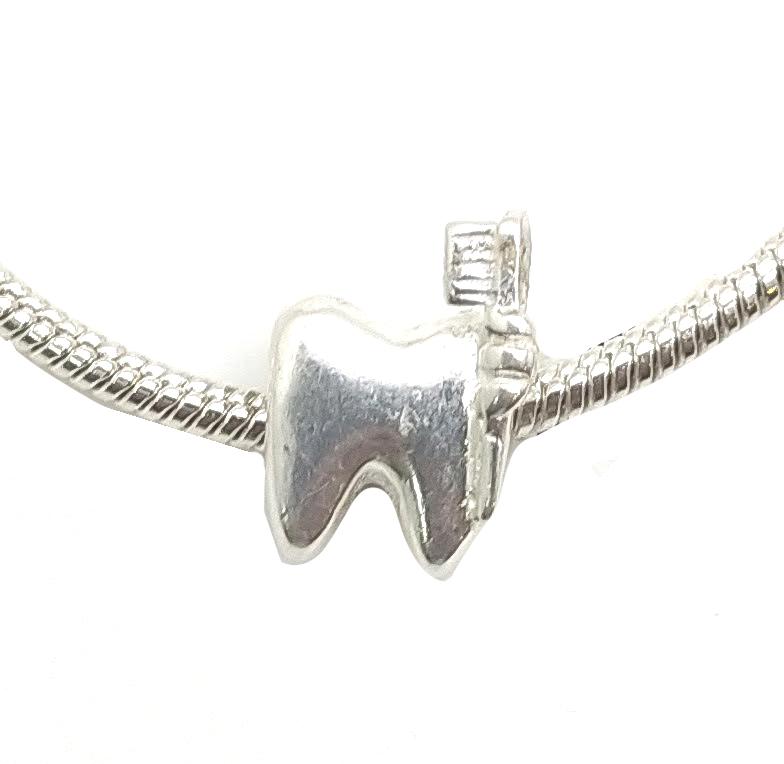 Berloque Dentista em prata 925