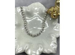Pulseira bolinhas em prata 925