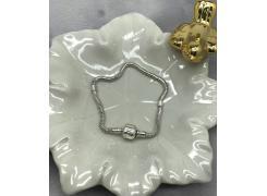 Pulseira Life Flexível Modelo Pandora em Prata