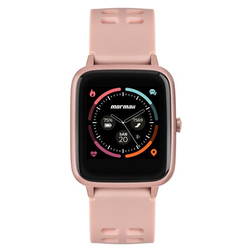 Smartwatch Mormaii Life Unissex Full Display Rosé - MOLIFEAA/8J