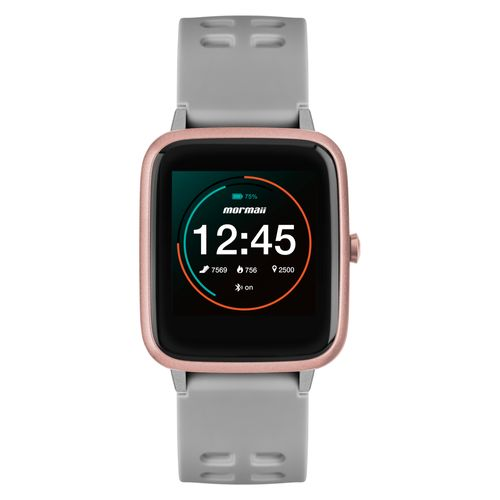 Smartwatch Mormaii Life Unissex Full Display Rosé - MOLIFEAC/8K