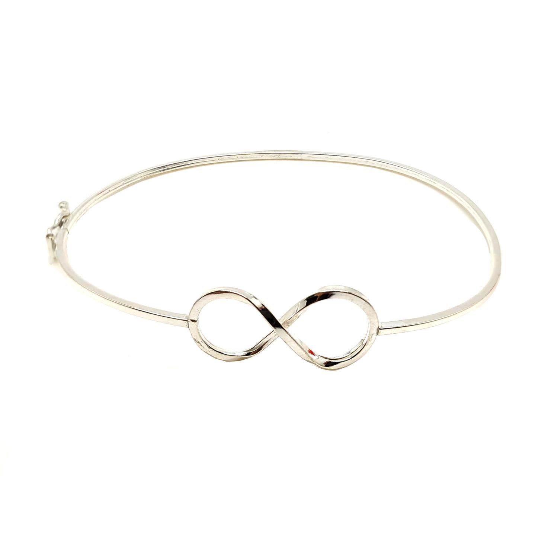 Bracelete Infinito em Prata