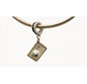 Berloque  Câmera fotográfica em prata 925