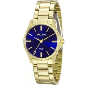 Relógio Seculus Feminino Long Life Analógico 20462LPSVDA2