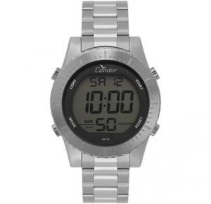Relógio Condor Masculino Casual Digital Prata COBJ3463AB/2K