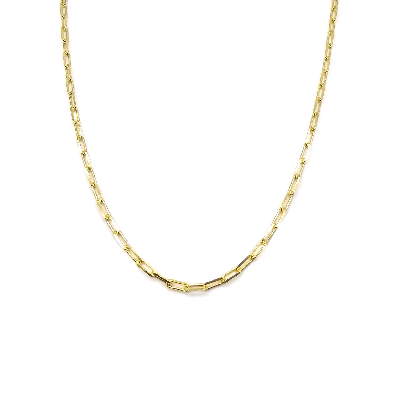 Corrente Masculina Elos Cartier Folheada a Ouro 18k
