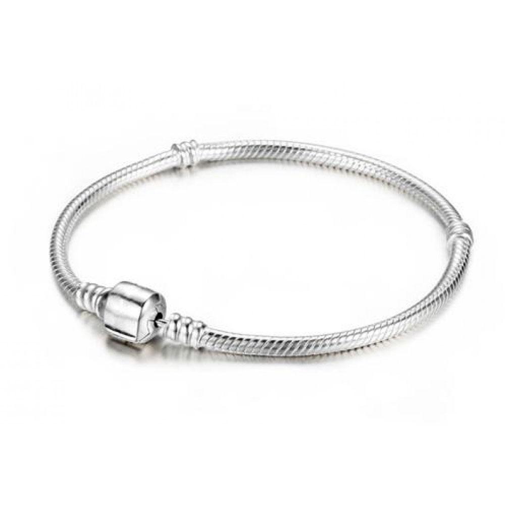 Pulseira Modelo Pandora em Prata