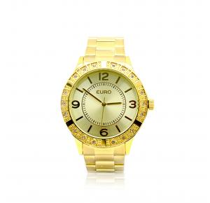Relógio Euro Feminino Metalize EU2035YKS/4D - Dourado
