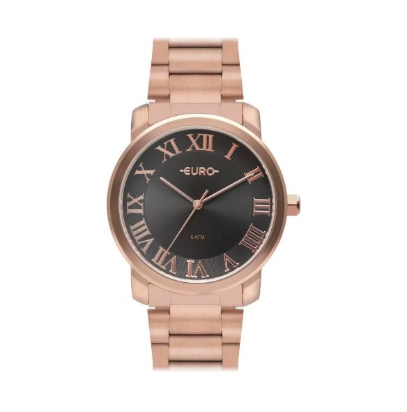Relógio Euro Feminino Roman Basic Rosé EU2036YNO/4C