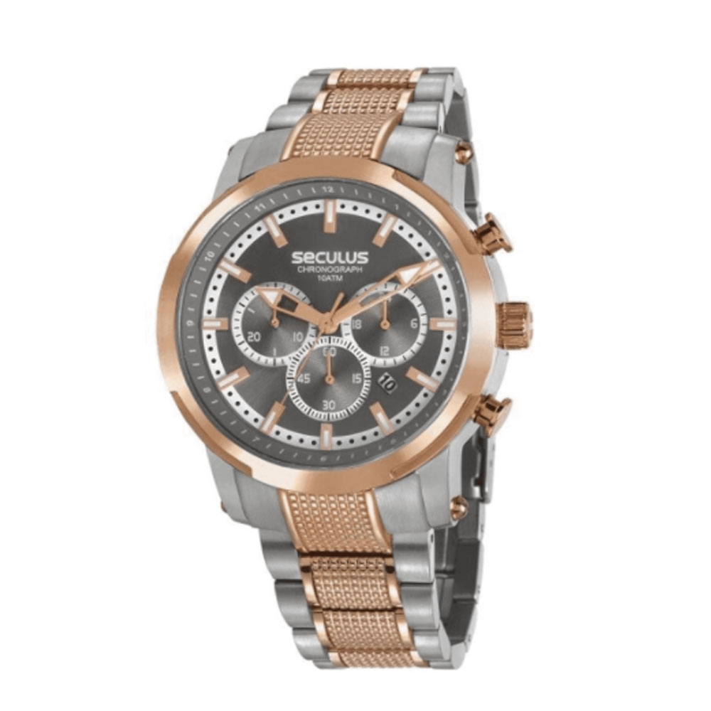 Relógio Masculino Cronógrafo Seculus 20744GPSVGA2