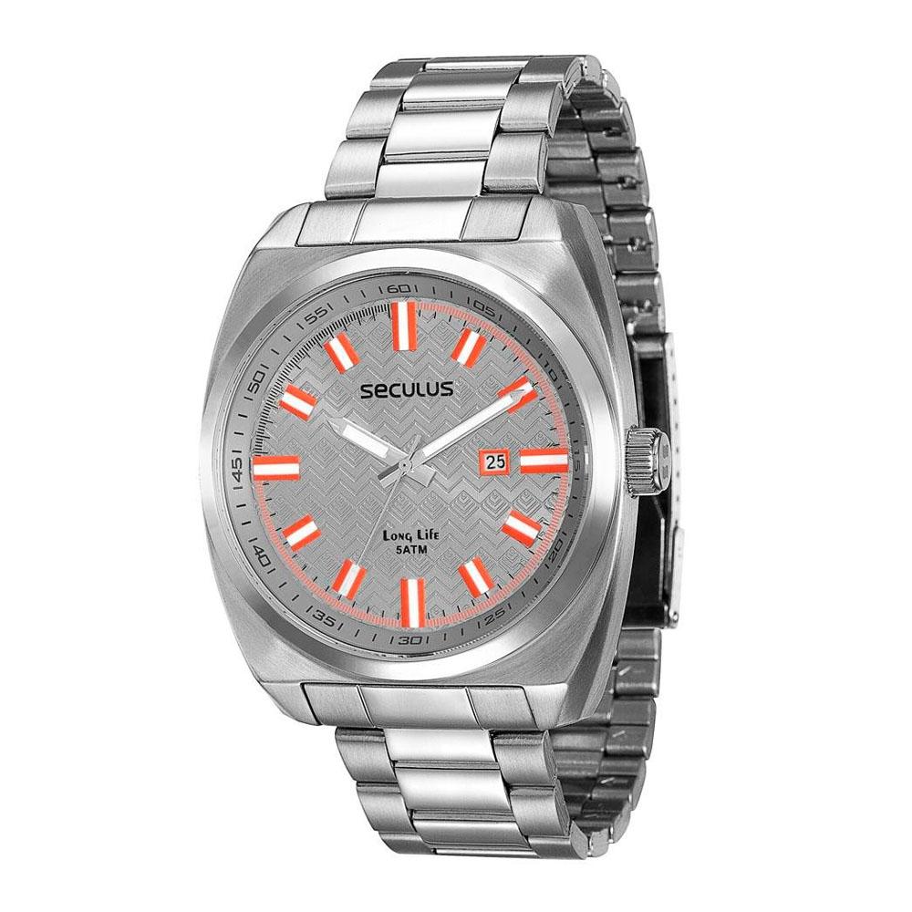Relógio Masculino Analógico Seculus 28583G0SVNA1