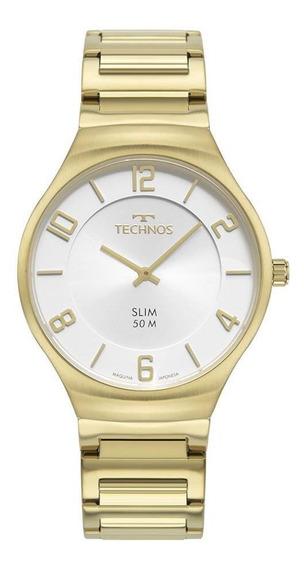 Relógio Technos Masculino Classic Slim Dourado 1L22Wk/1K