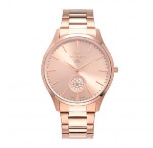 Technos Relógio Technos Feminino Slim Rosé VD78AC/4T