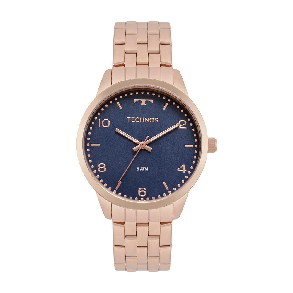 Relógio Technos Feminino Elegance Dress Rosé 2035MPK/4A
